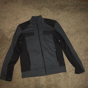 Other - Men's zippered down dress shirt